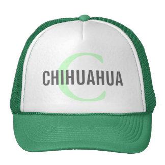 Chihuahua Breed Monogram Design Hats