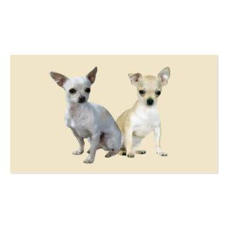 Chihuahua Buddies Business Card