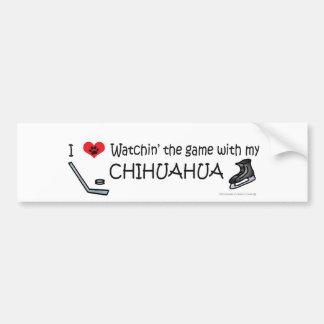 CHIHUAHUA CAR BUMPER STICKER