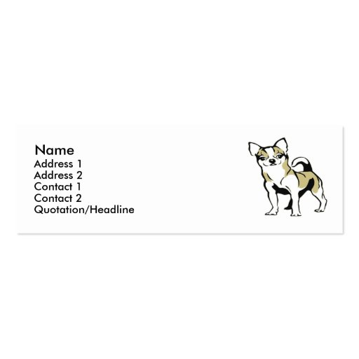 Chihuahua Business Card Template