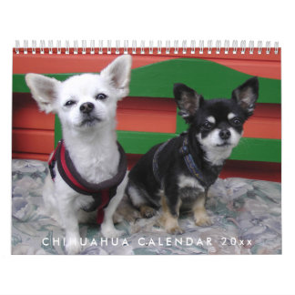Chihuahua Calendar 2018 Personalized Add Photo