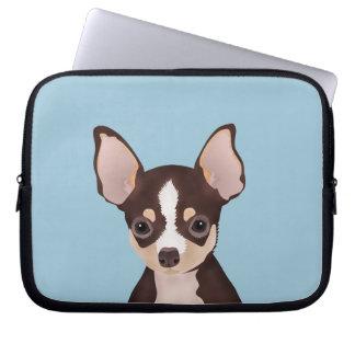 Chihuahua cartoon computer sleeve