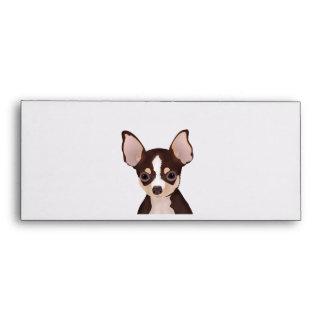 Chihuahua Cartoon Envelope