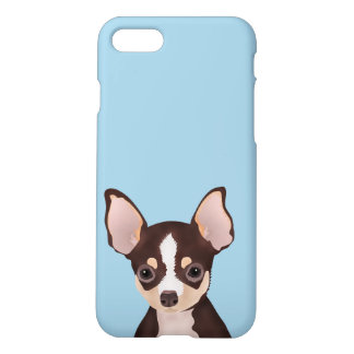 Chihuahua cartoon iPhone 8/7 case