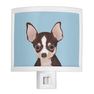 Chihuahua cartoon night light