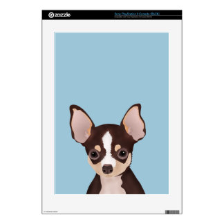 Chihuahua Cartoon Skin For The PS3