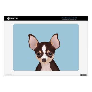 Chihuahua Cartoon Skins For Acer Chromebook