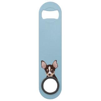 Chihuahua cartoon speed bottle opener
