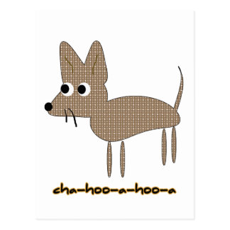 Chihuahua Chihooahooa Drawing Cartoon Postcard