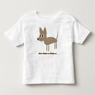 Chihuahua Chihooahooa Drawing Cartoon Toddler T-shirt