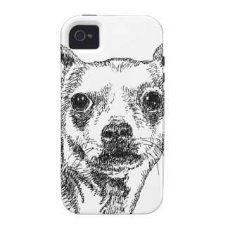 Chihuahua-Chiwawa Dogs iPhone 4 Cases