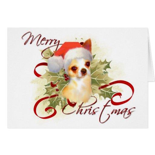 Chihuahua Christmas Card