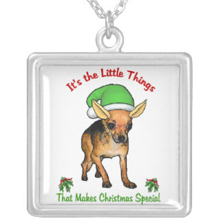 Chihuahua Christmas Gifts Pendant