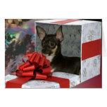 Chihuahua Christmas Greeting Card