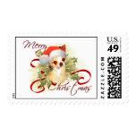 Chihuahua Christmas Stamps