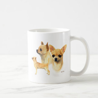 Chihuahua Classic White Coffee Mug