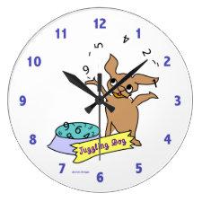 Chihuahua Clock