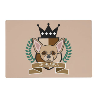 Chihuahua Coat of Arms Laminated Place Mat