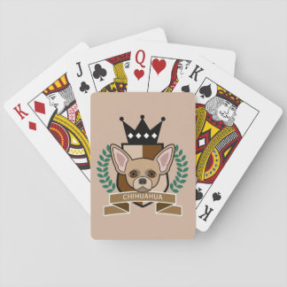 Chihuahua Coat of Arms Playing Cards