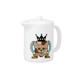 Chihuahua Coat of Arms Teapot