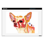 Chihuahua Colorful Abstract Skins For Laptops