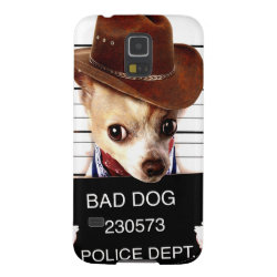 Case-Mate Barely There Samsung Galaxy S5 Case with Chihuahua Phone Cases design