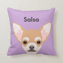 Chihuahua Custom Dog Pillow - Cute Gift