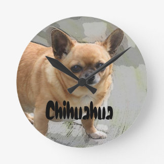 Chihuahua Cute Clock (C3 )