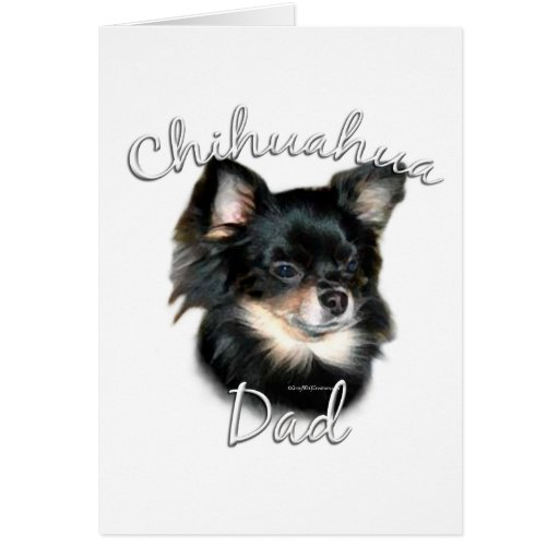 Chihuahua Dad 2 Greeting Card