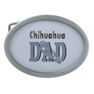 Chihuahua DAD Belt Buckle