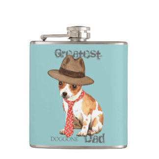 Chihuahua Dad Hip Flask