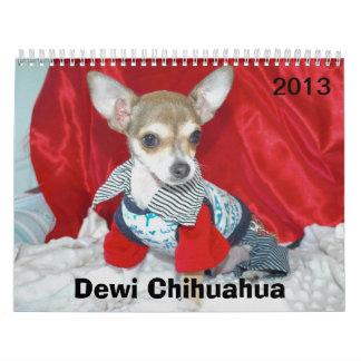 Chihuahua de Dewi Calendario