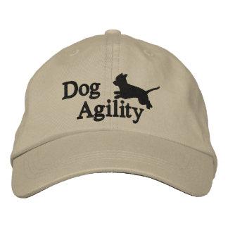 Chihuahua de la agilidad gorra de beisbol