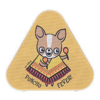 Chihuahua de la fiebre del poncho altavoz