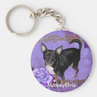 Chihuahua de MickeyElvis Llaveros Personalizados