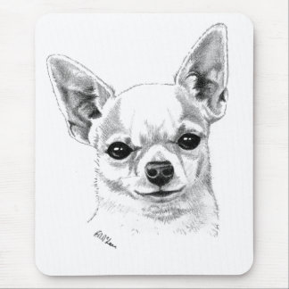 Chihuahua de Smoothcoat Mouse Pads