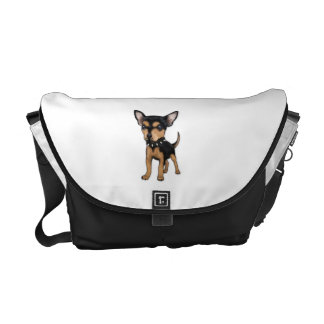 Chihuahua del asesino bolsas de mensajeria