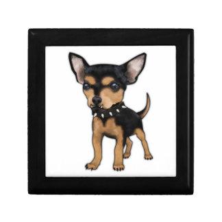 Chihuahua del asesino caja de recuerdo