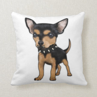Chihuahua del asesino almohadas
