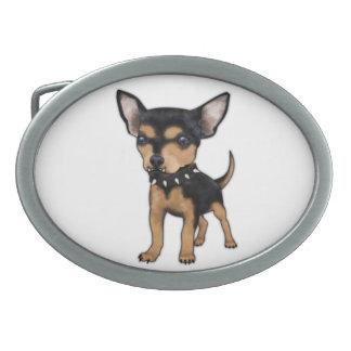 Chihuahua del asesino hebillas de cinturon