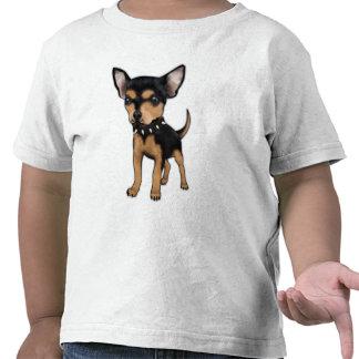 Chihuahua del asesino camisetas