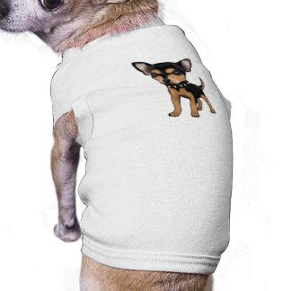 Chihuahua del asesino camiseta de mascota