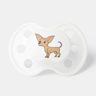 Chihuahua del cervatillo chupetes de bebé