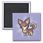 Chihuahua del dibujo animado (capa larga)