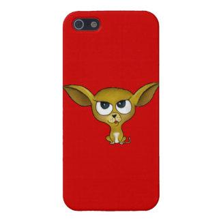 Chihuahua del dibujo animado iPhone 5 cárcasas