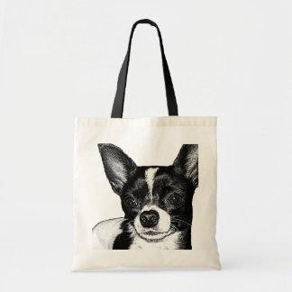 Chihuahua del fiesta bolsa tela barata
