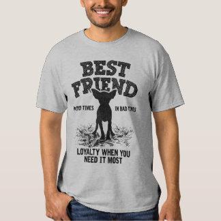 Chihuahua del mejor amigo remera