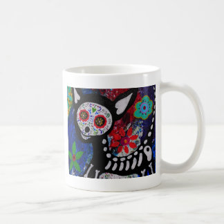 Chihuahua Dia De los Muertos by Prisarts Coffee Mug