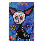Chihuahua Dia de los Muertos Papelería Personalizada