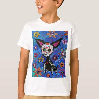 Chihuahua Dia de los Muertos T-Shirt